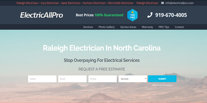 Raleigh Electrician Expert Trade Institutions Give You the Capabilities On Top Electric powered Job Positions