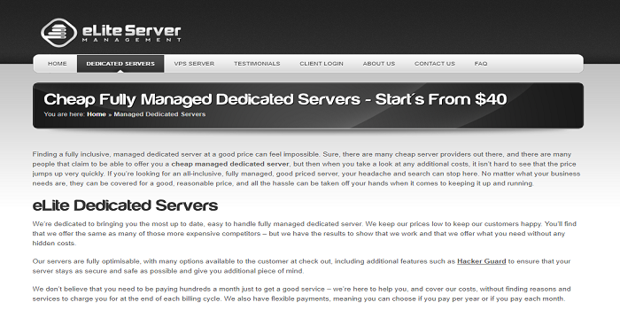 Dedicated Server Vs. Managed Hosting: A Comparison