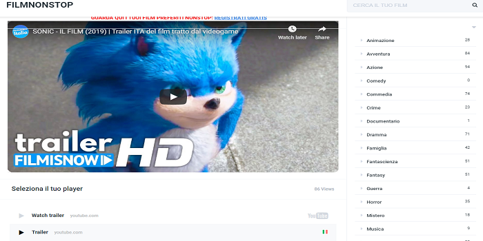 sonic il film altadefinizione streaming